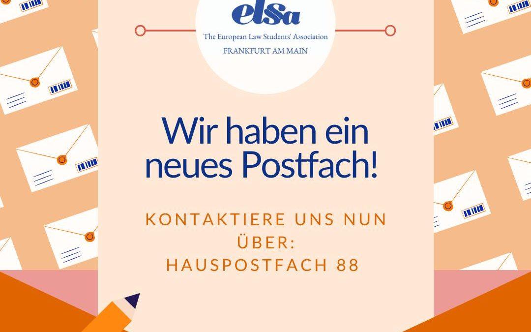 Neues Postfach