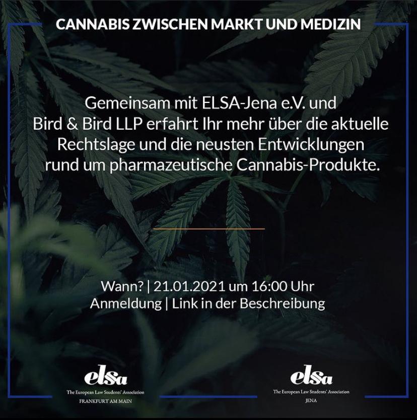 Cannabis zwischen Markt und Medizin