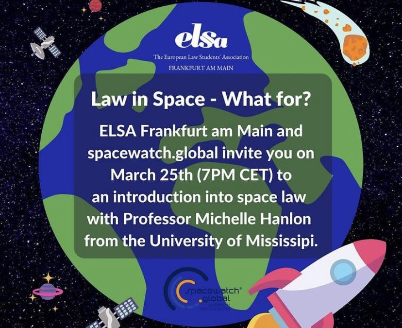 Law in Space – What for?